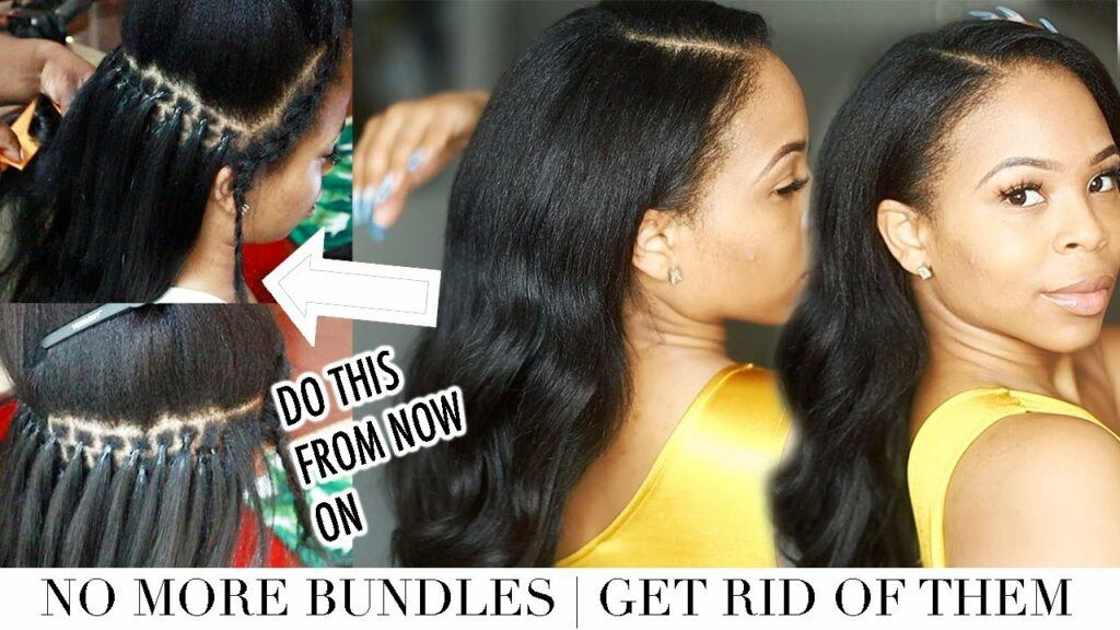 No MORE SEW-INS   I did Microlinks on myself and here's what happened   Studio Techilo ITIPS